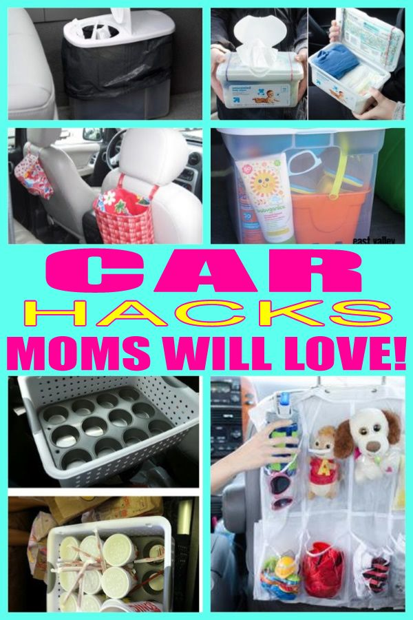 Car Hacks for Moms