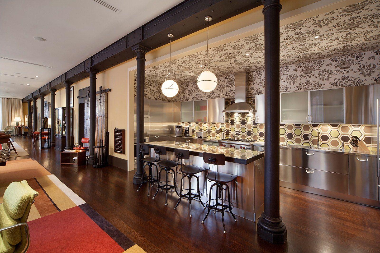 Excelente Cocina De Diseño De Nueva York Friso - Como Decorar la ...