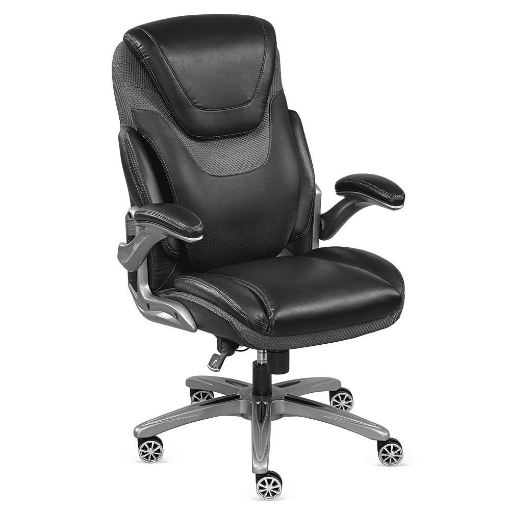 Avanti executive chair with flip arms ergonomic chair