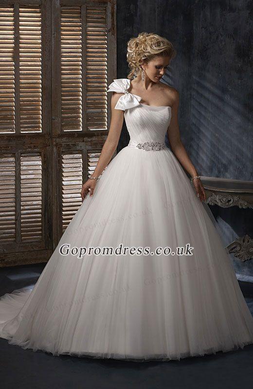 Princess Wedding Dress I Kinda Like This Minus Giant Bow On Shoulder Ball Gown