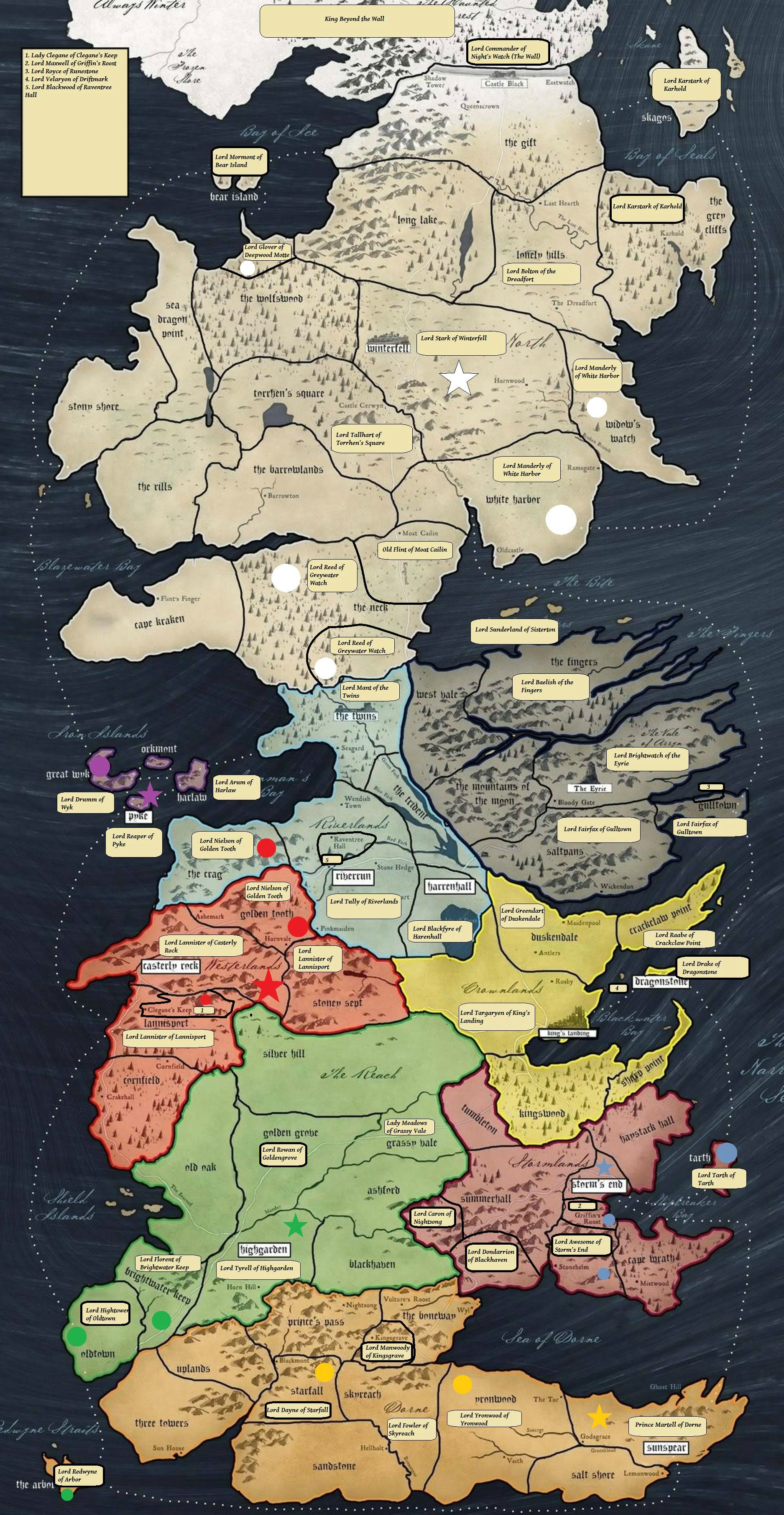 Game Of Thrones Houses Map : thrones, houses, Imgur:, Awesome, Images, Internet, Thrones, Westeros,