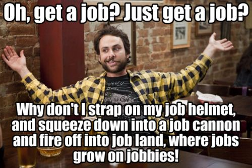i want to get a job