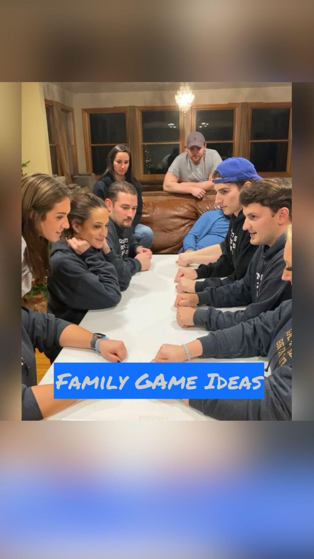 Family Game Ideas Part #1