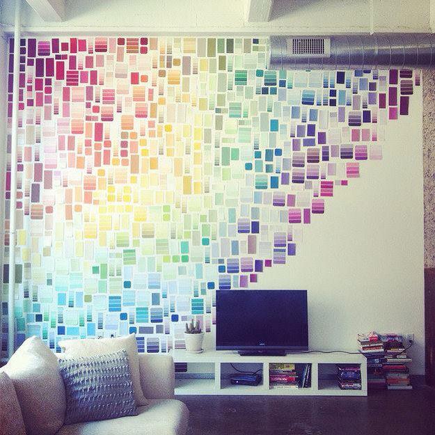 Mosaico arco íris