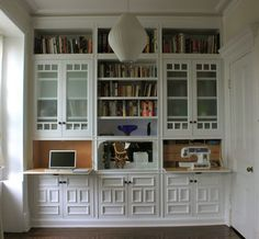 Billy Bookcase Hidden Desk Google Search Built Ins Built In