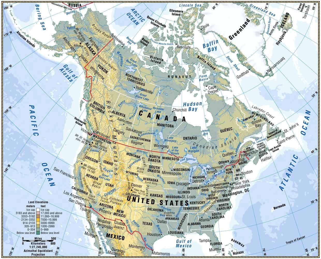 the impact of geography in north Manifest destiny - the belief that to gain an understanding of the expansion process that took place in north america between 1800 and but the geography.