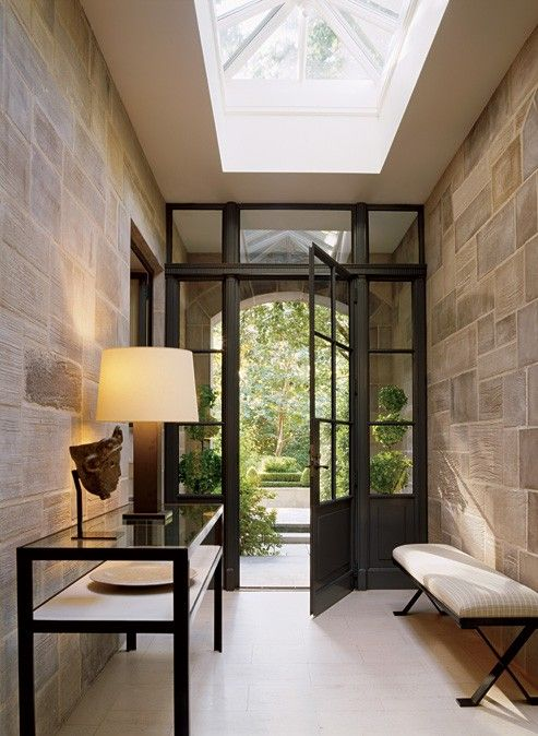 Fab skylight and doorway
