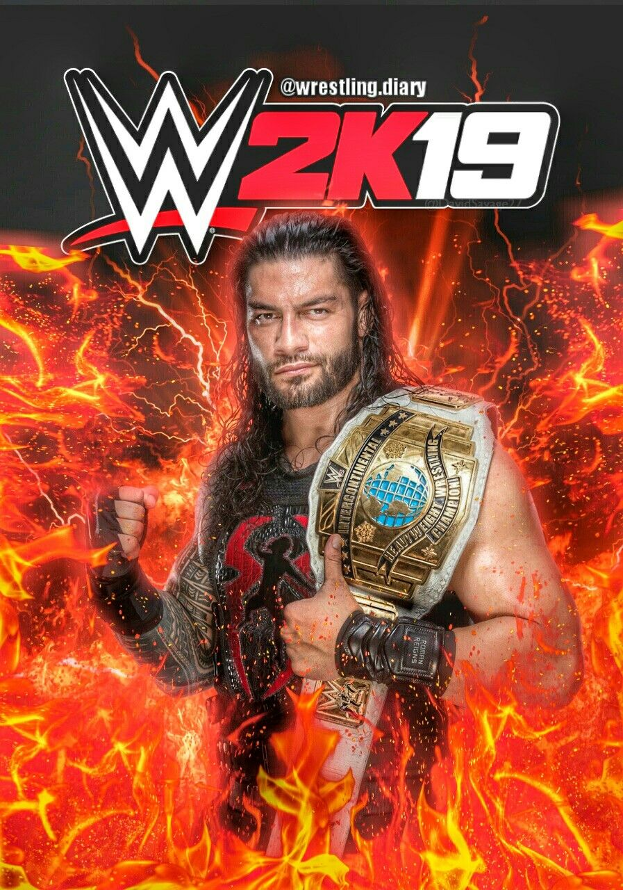 WWE2K19 Custom Cover Photo by Rohit00047 | aramis | Pinterest