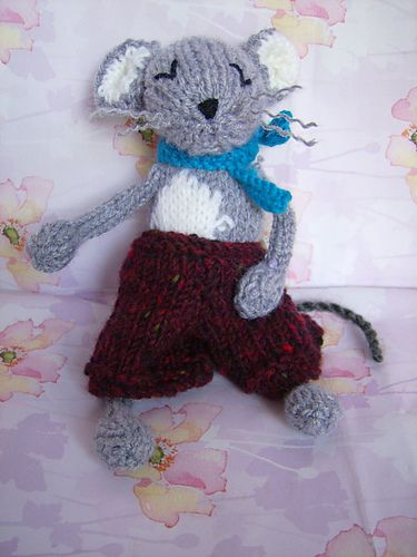 Mungo Mouse Knitted Toy Pattern By Abigail Originals Free Download