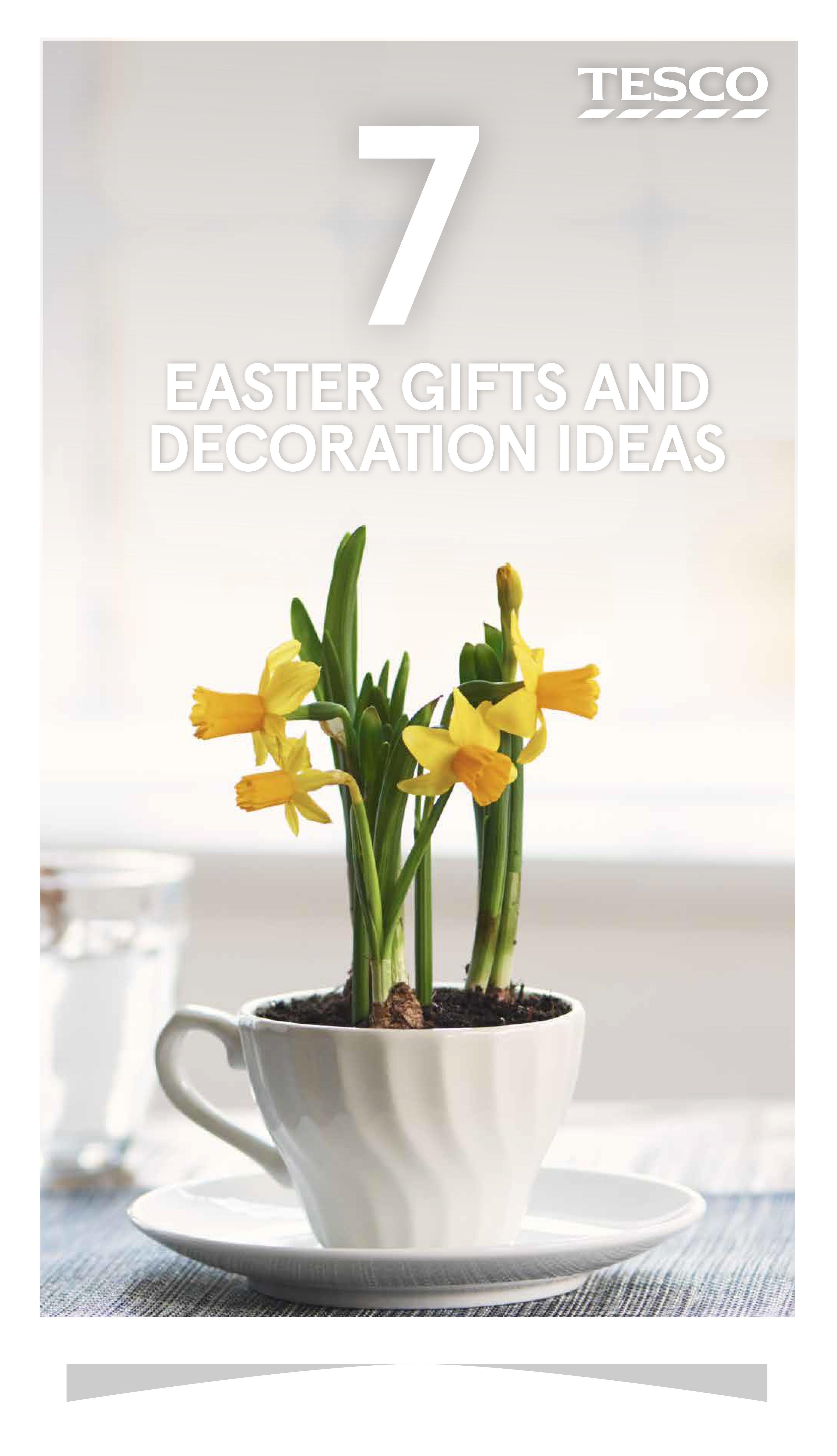 Easy easter gifts and decoration ideas negle Gallery