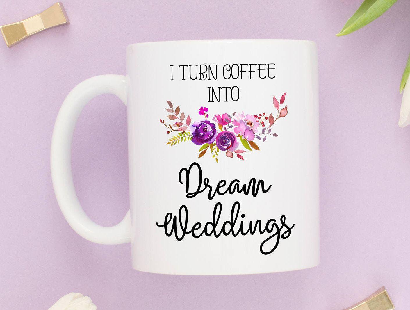 Wedding Planner Muggift For Wedding Plannerthank You Gift Wedding