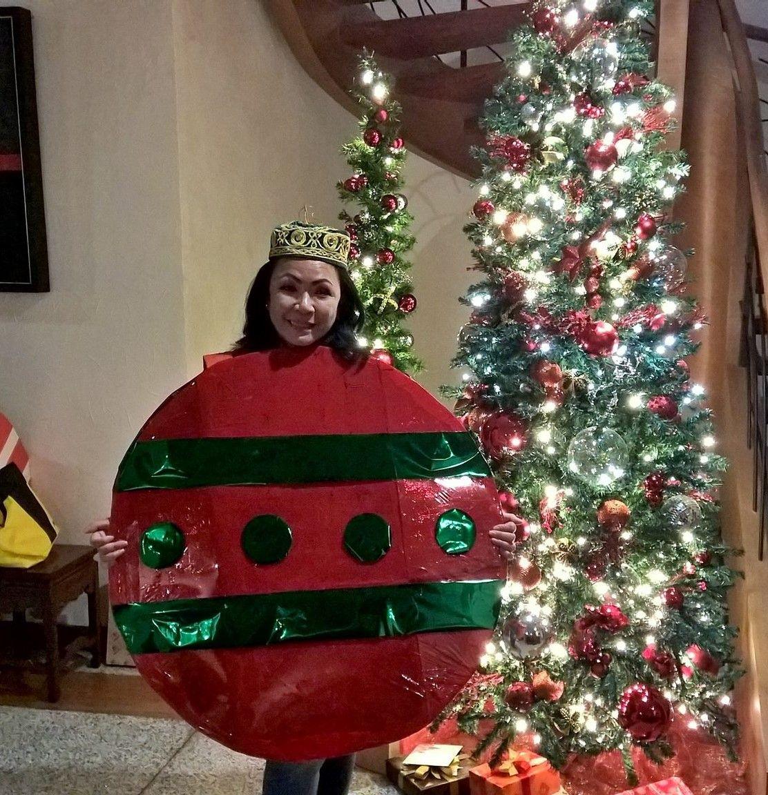 Christmas Ornament Costume | Secret Santa | Pinterest | Christmas ...