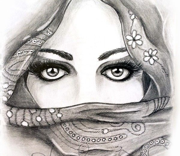 Pencil drawing of eyes artist steph z