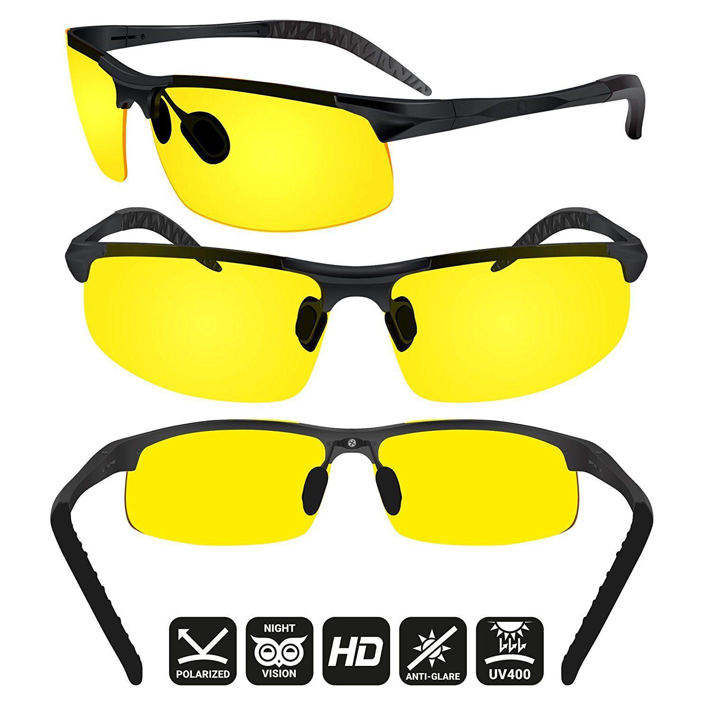 Blupond night driving glasses antiglare hd
