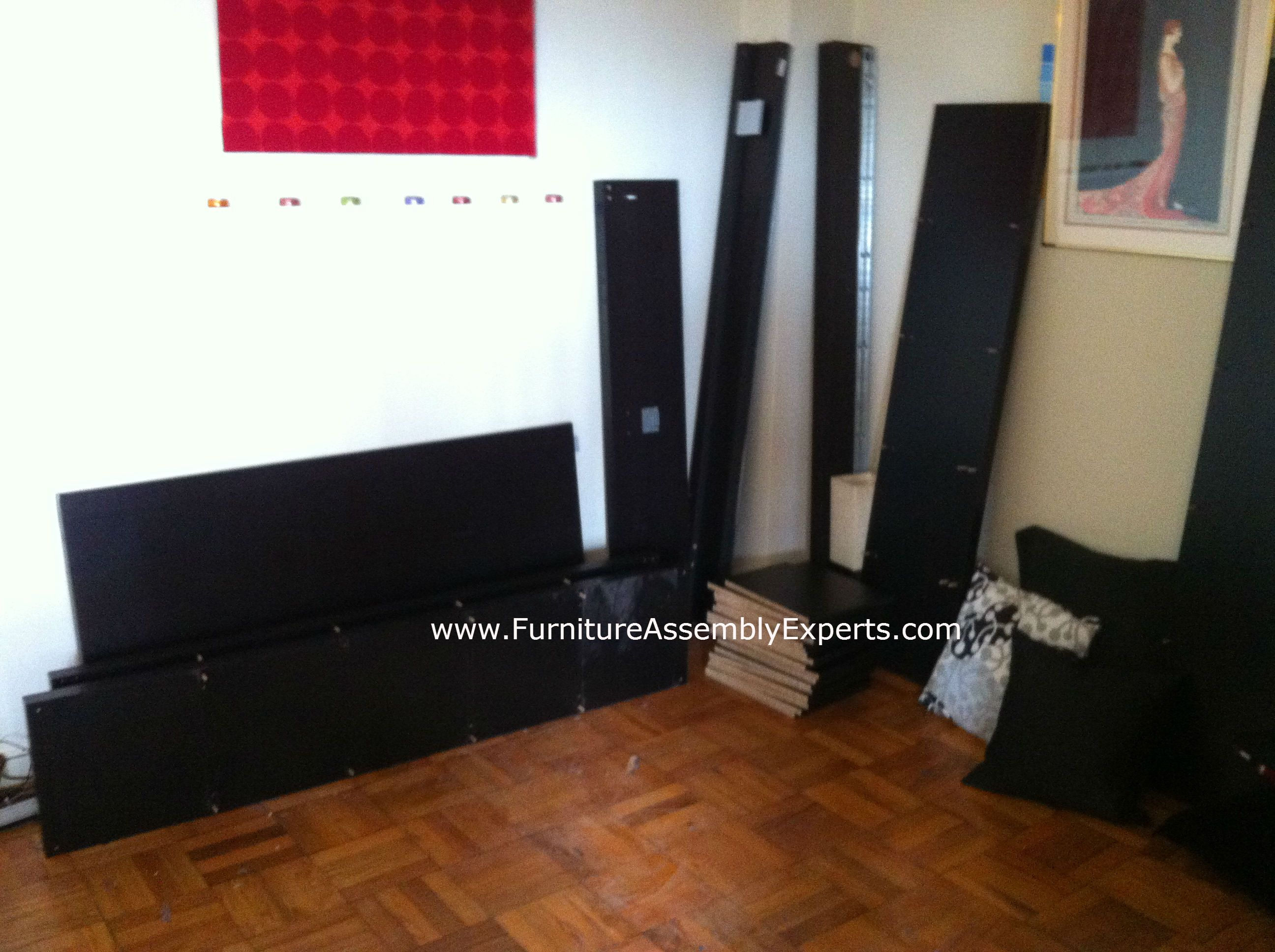 Ikea Malm Bed And Expedit Bookshelf Disassembled In Washington Dc