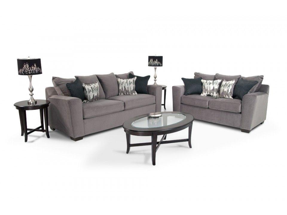 Skyline 7 Piece Living Room Set | Living Room Sets | Living Room | Bobu0027s  Discount