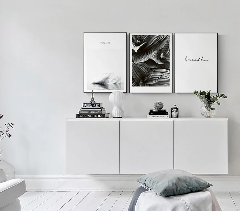 White Wall Art Posters Fine