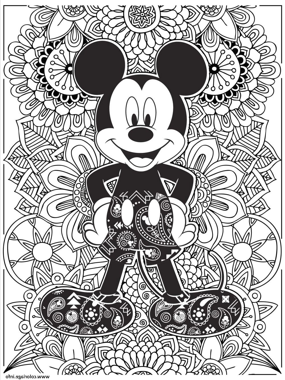 24 Luxe De Coloriage Stitch Mandala Image  Mickey coloring pages