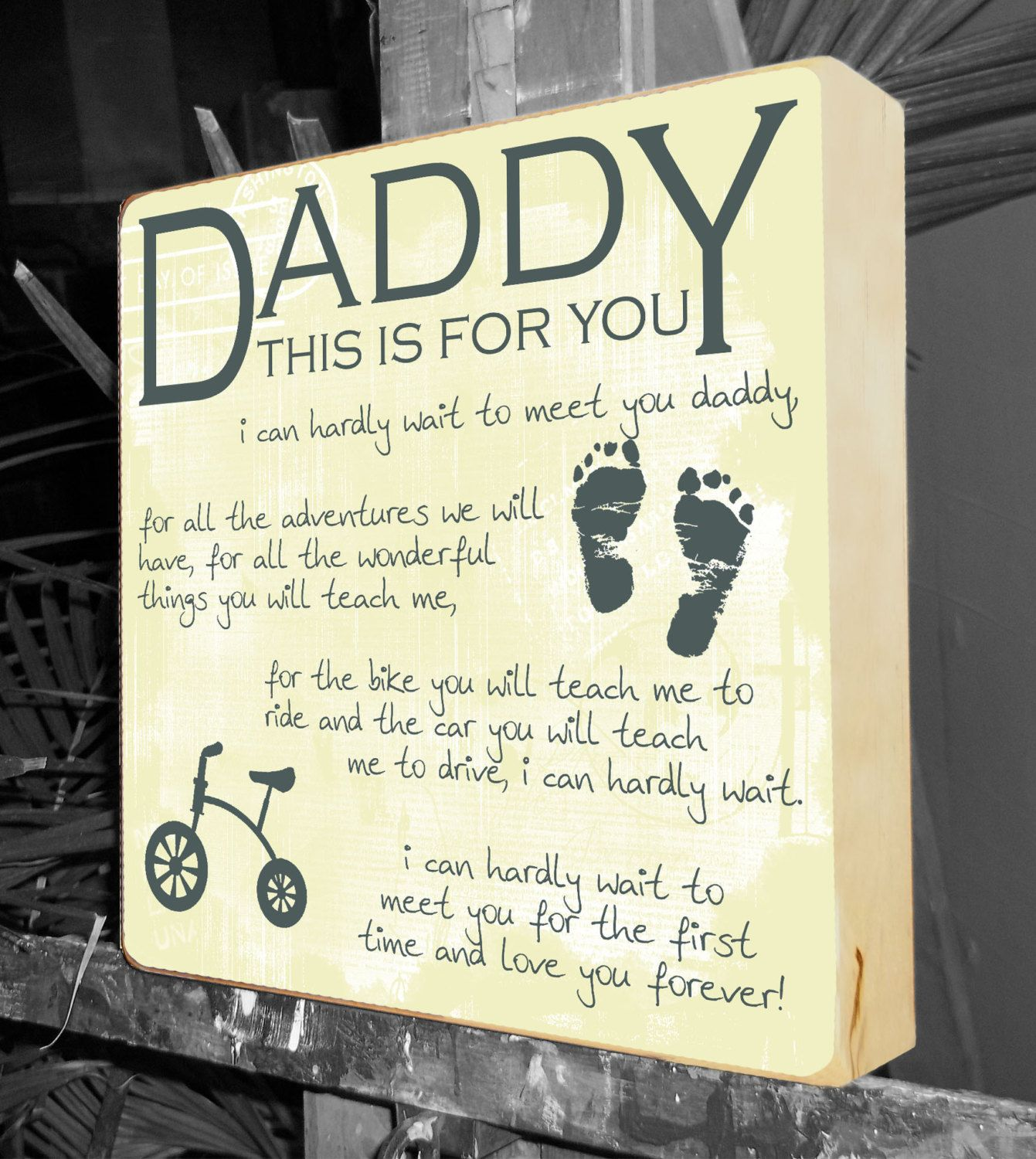 New Dad Gift Gifts for New Parents Baby Shower Gift Personalized