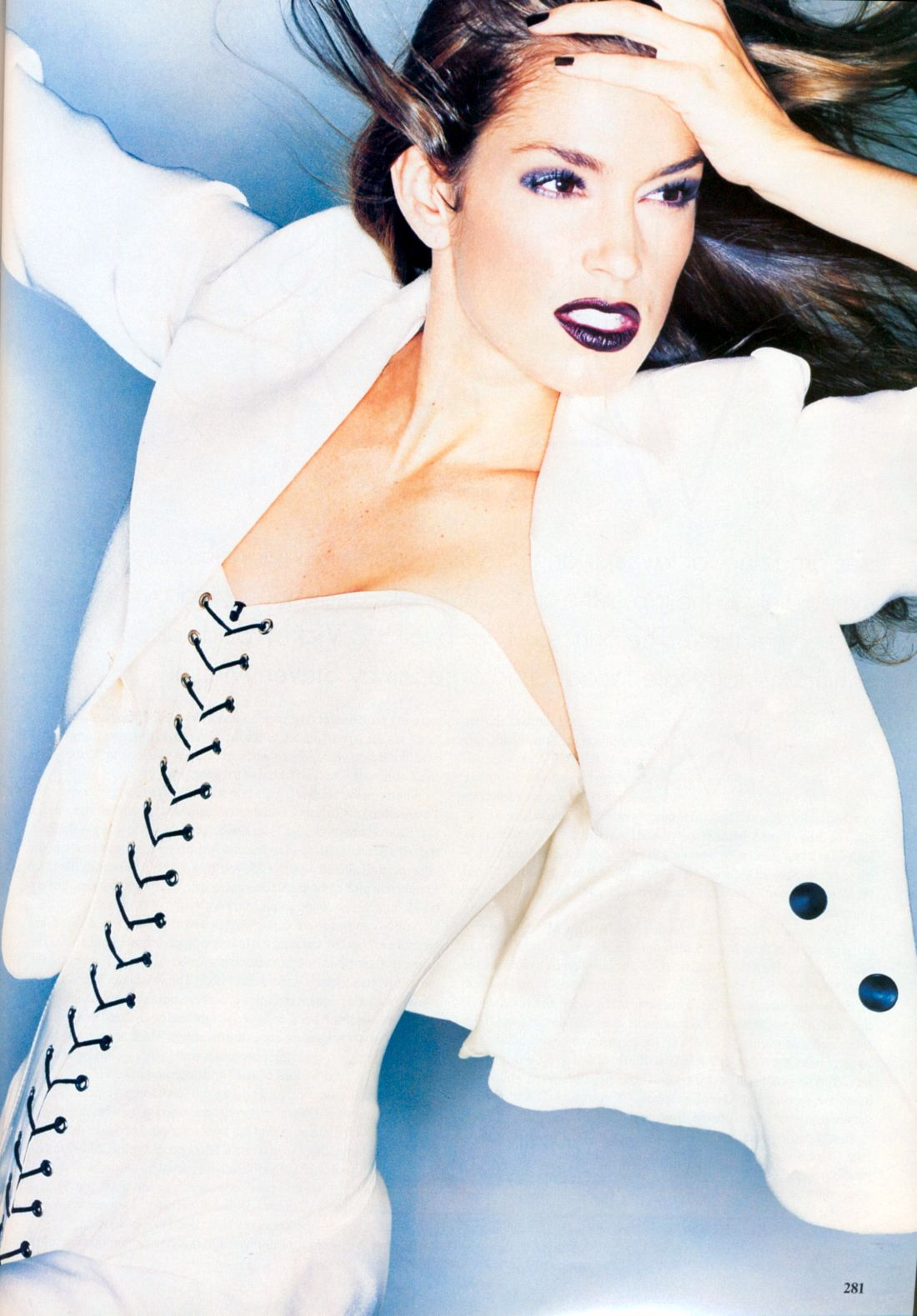 ☆ Cindy Crawford | Photography by Nick Knight | For Vogue Magazine US | December 1994 ☆