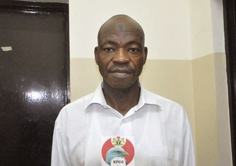 Nigerian top secret: see photo: suspect who defrauded bureau de
