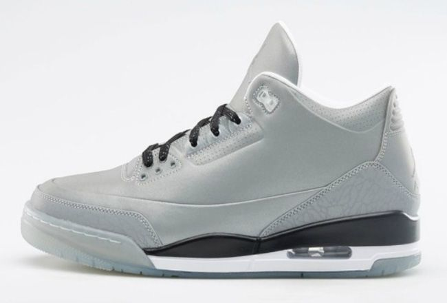Big Discount 66 OFF Air Jordan 3 5Lab3 Reflective SilverBlackWhite For Sale Online