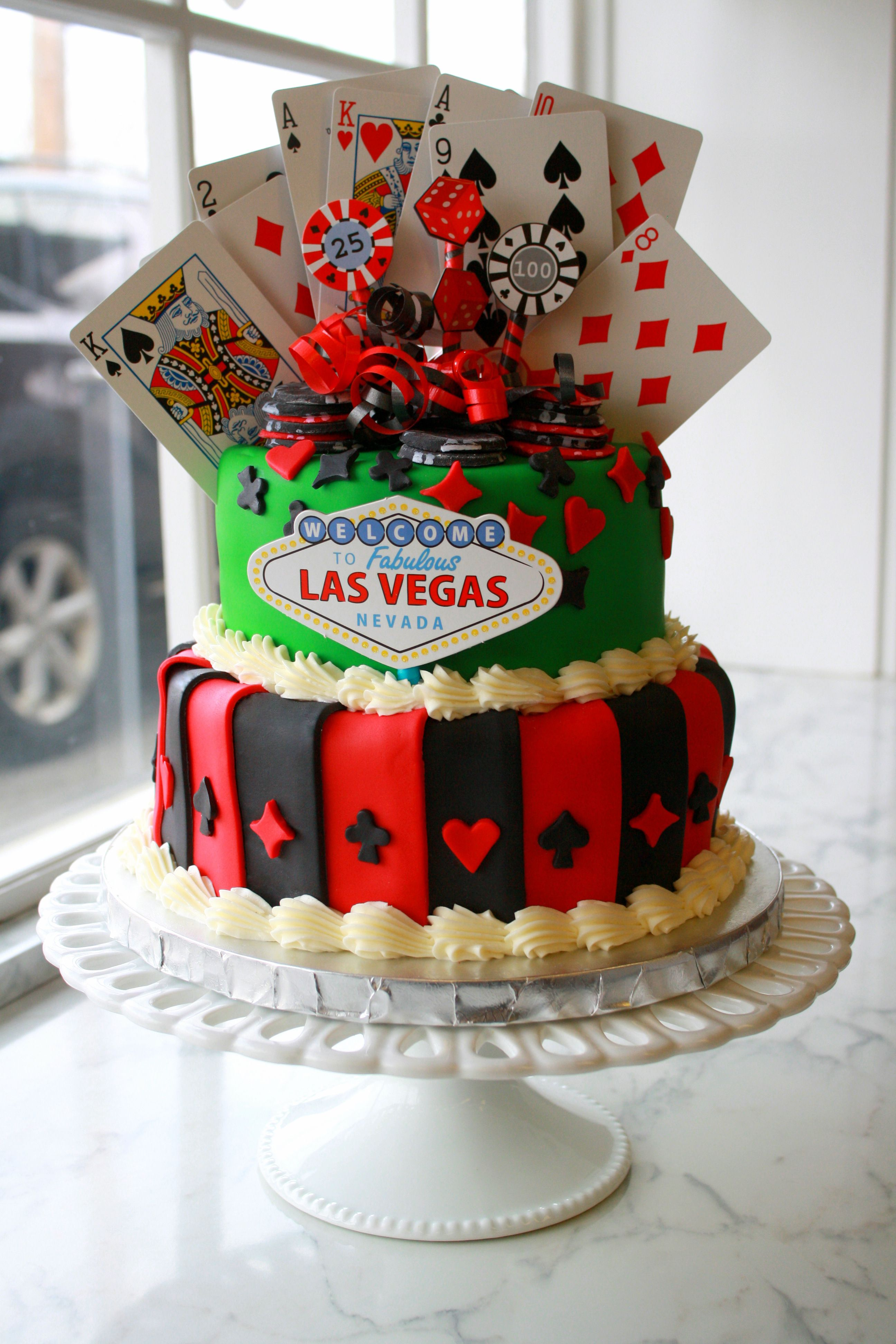 Casino cake petes sweets pinterest casino cakes