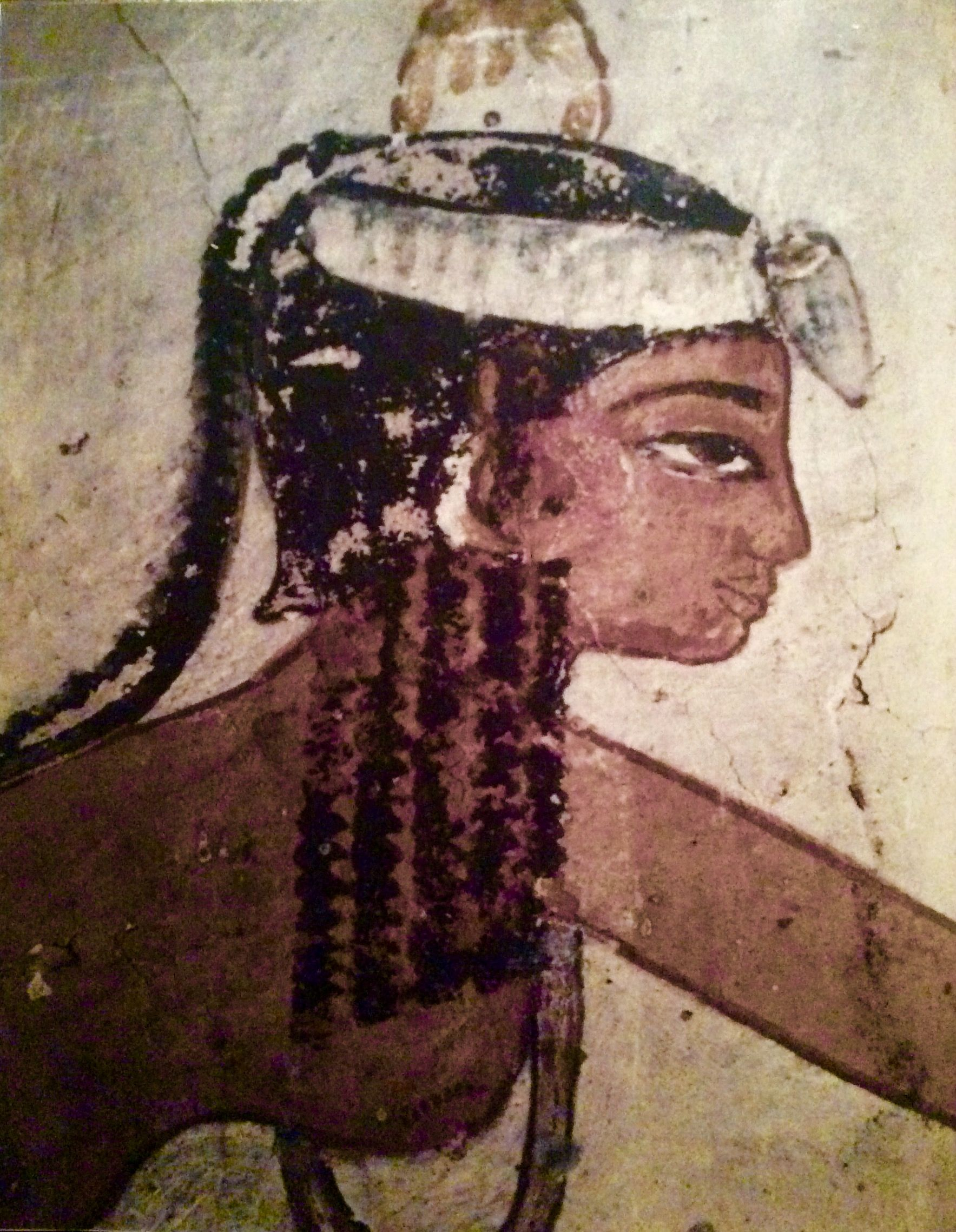 Teenaged Banquet Attendant From The Tomb Of Djeser -8325