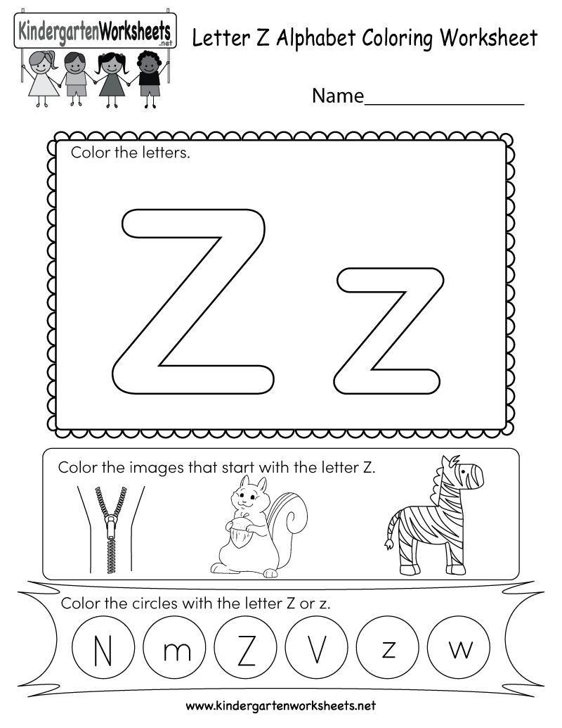 18 A To Z Worksheets For Preschoolers In 2020 Kindergarten Letters Alphabet Worksheets English Worksheets For Kids