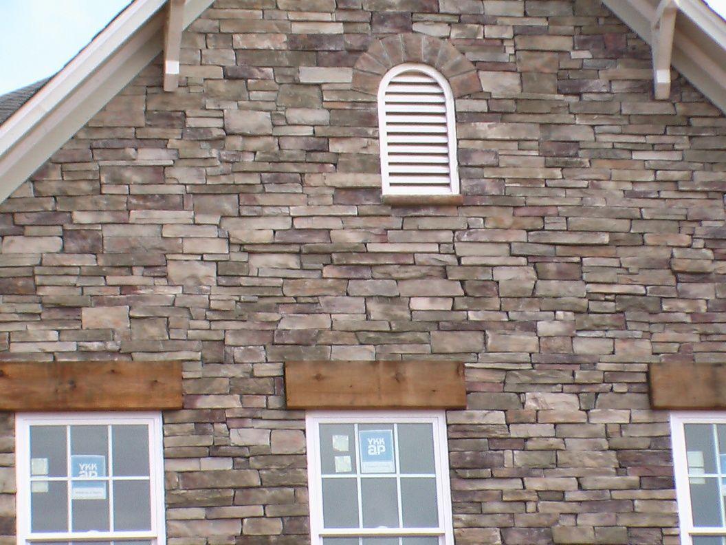 Bucks County Country Ledgestone New House Ideas