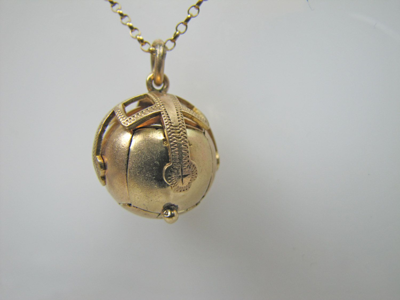 Polished 10k Rose Gold Crusaders Jerusalem Cross Pendant Necklace Freemason Masonic Jewelry