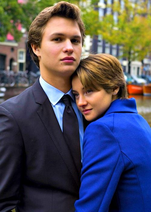 The Fault In Our Stars Omg if your a book nerd....that's Caleb and Tris...and hazel and Augustus