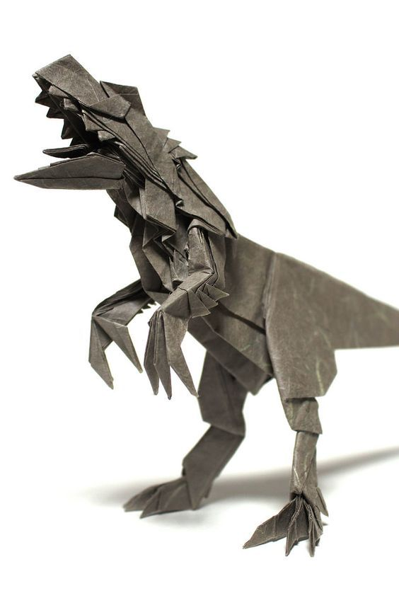 These 27 Prehistoric Origami Models are Dino-mite! | 845x564