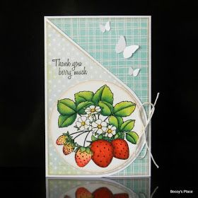 Beccy's Place: Tutorial: Teardrop Card (Trifold)