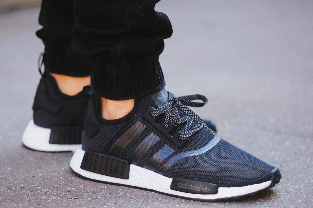 ADIDAS NMD R1 PK 'TRI COLOR' Black Tree