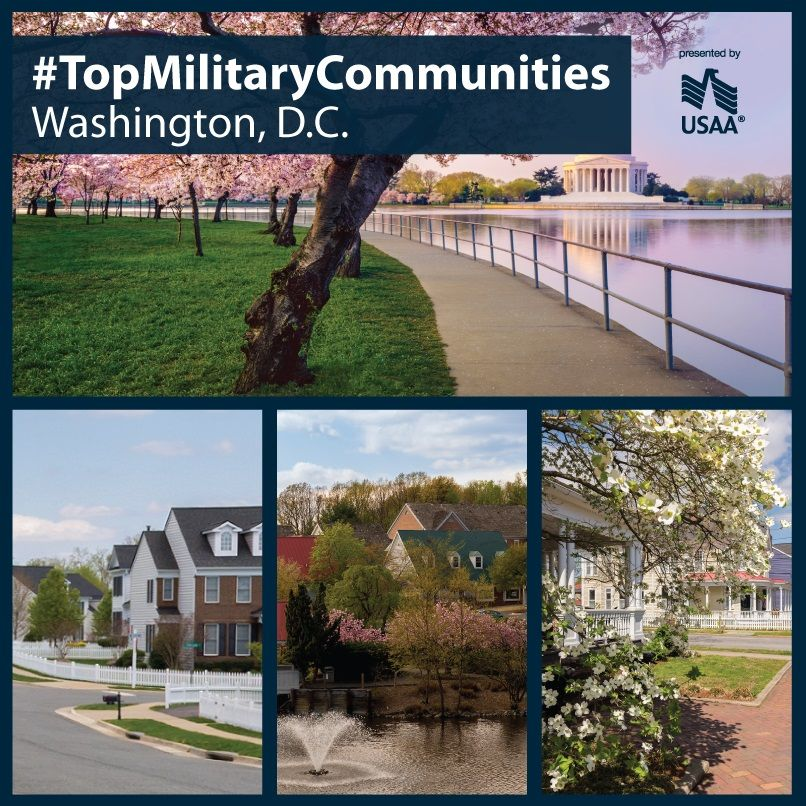 D C Is Home To More Than 130k Active Duty Military And Their