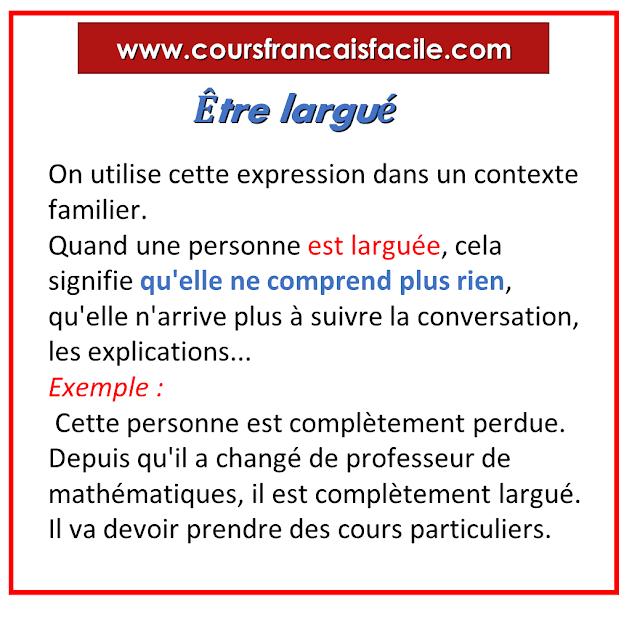 Etre Largue Mathematiques Vous Etes Apprendre Le Francais