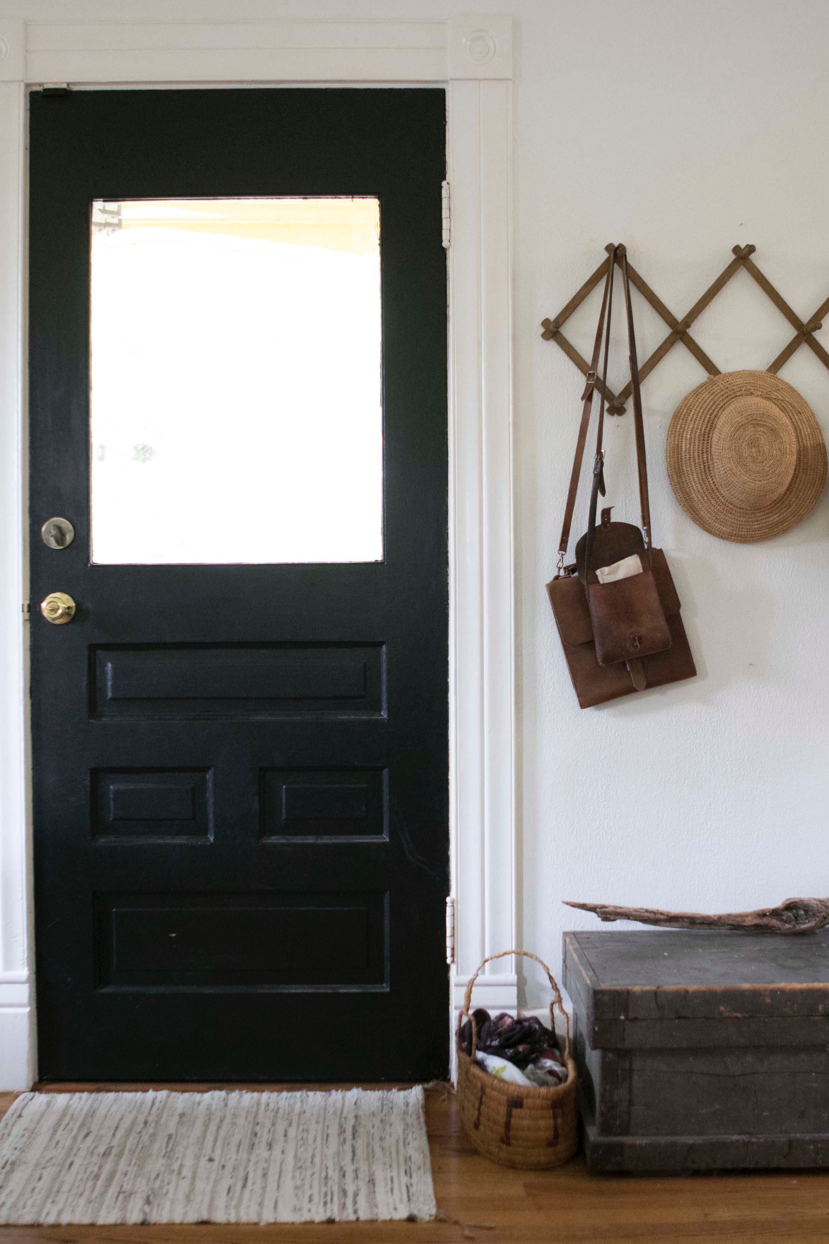 Just Inside The Front Door Sits An Antique Chest That Bonney Thrifted At A  Farm Sale