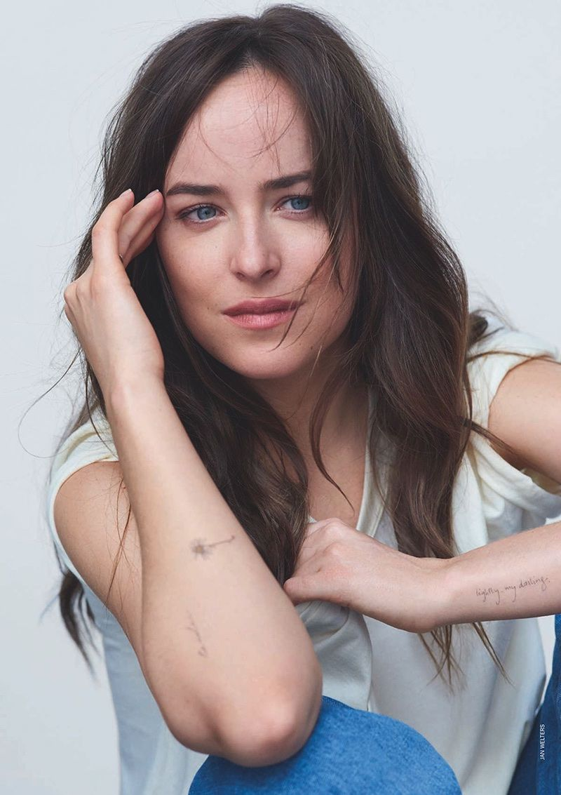39++ Awesome Dakota johnson tattoo ellen ideas
