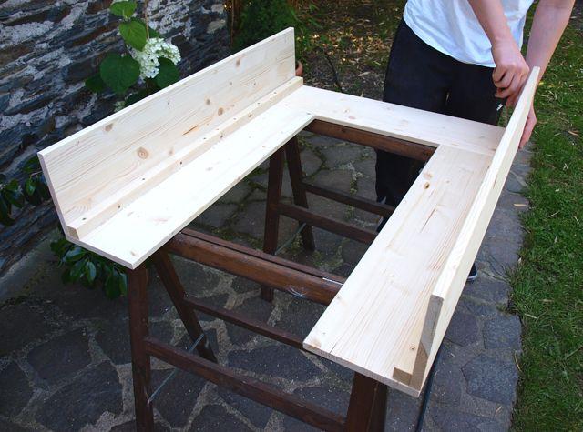 kaminkonsole selber bauen kamine basteln pinterest kaminkonsole selber bauen und dekokamin. Black Bedroom Furniture Sets. Home Design Ideas
