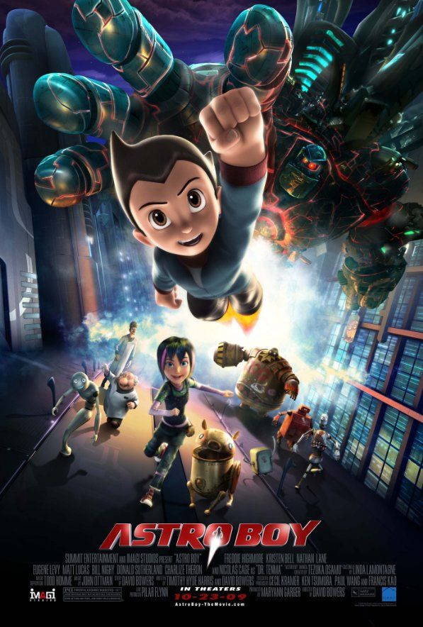 Astro Boy (2009) Astro boy, Great kids movies, Movies