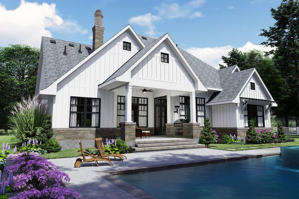 Farmhouse Style House Plan - 4 Beds 4.00 Baths 2191 Sq/Ft ...