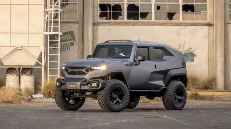 Configure The 178 000 Rezvani Tank To Be The Hemi Powered Jeep Wrangler You Dream About Jeep Wrangler Unlimited