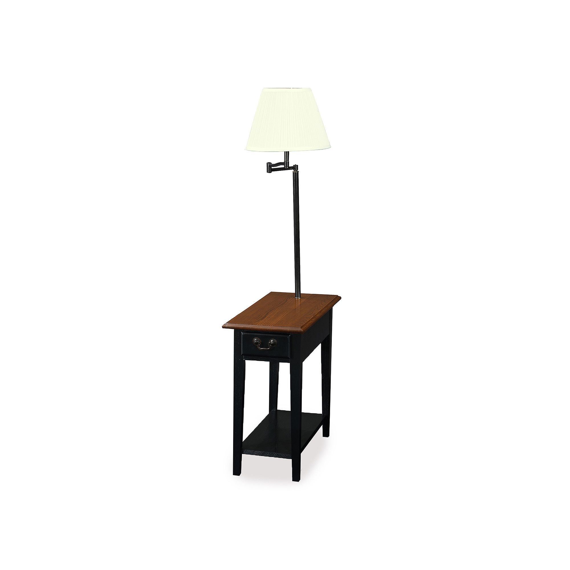Leick Furniture Chairside Lamp End Table End Table With