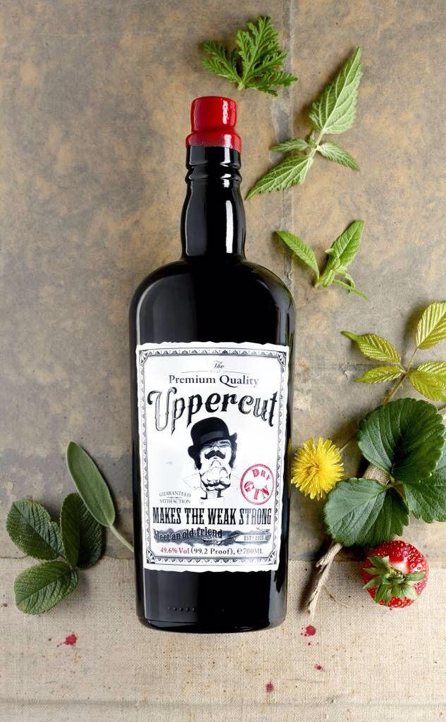 Upercut gin. Makes the weak strong guaranteed satisfaction