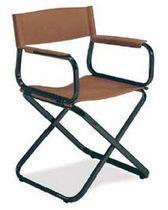 silla de director de cine tradicional de cuero CROCIATA Arrben di Benvenuto Ottorino