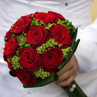 Save On Rose Wedding Bouquets Bridal Bouquet Red And At Bunchesdirect