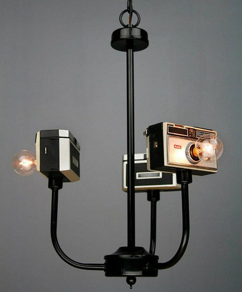 cameras lampe zum selber bauen do it yourself ideen wohnung pinterest. Black Bedroom Furniture Sets. Home Design Ideas