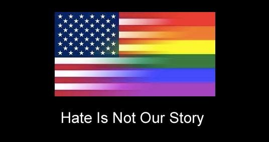 Hate is not our story!