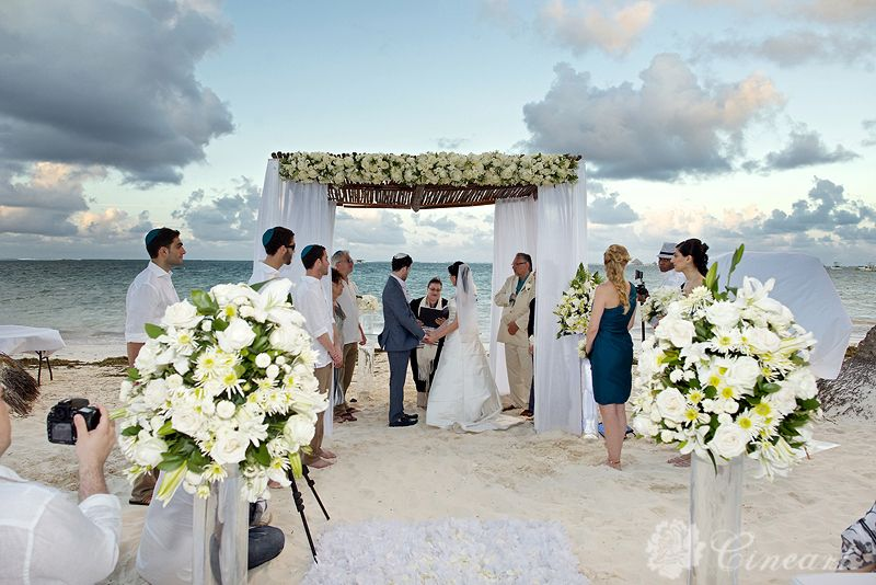 natalie and david super fabulous wedding at the dreams palm beach in punta cana